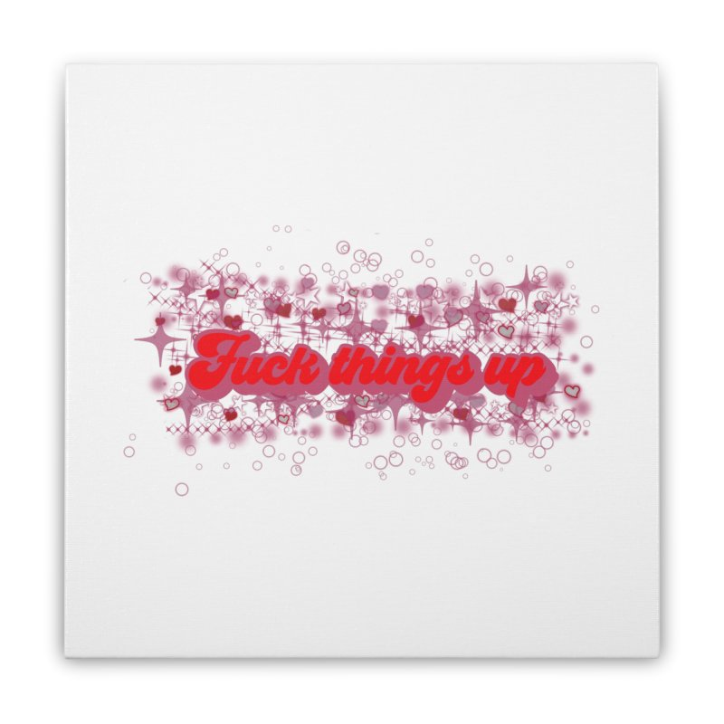 FTU Home Stretched Canvas by gasponce