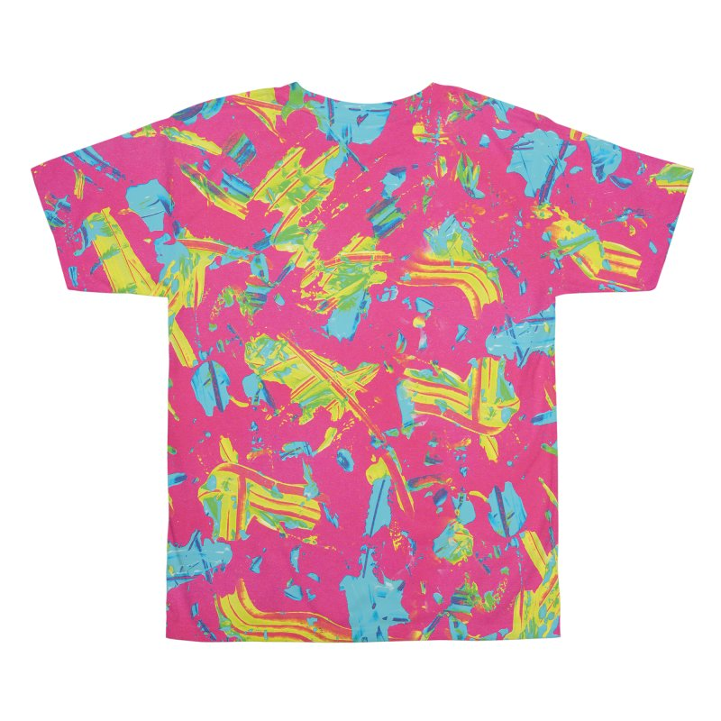 NEON PAINT PINK Men's All Over Print by gasponce