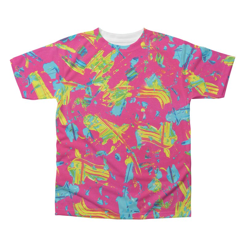 NEON PAINT PINK in Men's Regular All Over Print by gasponce