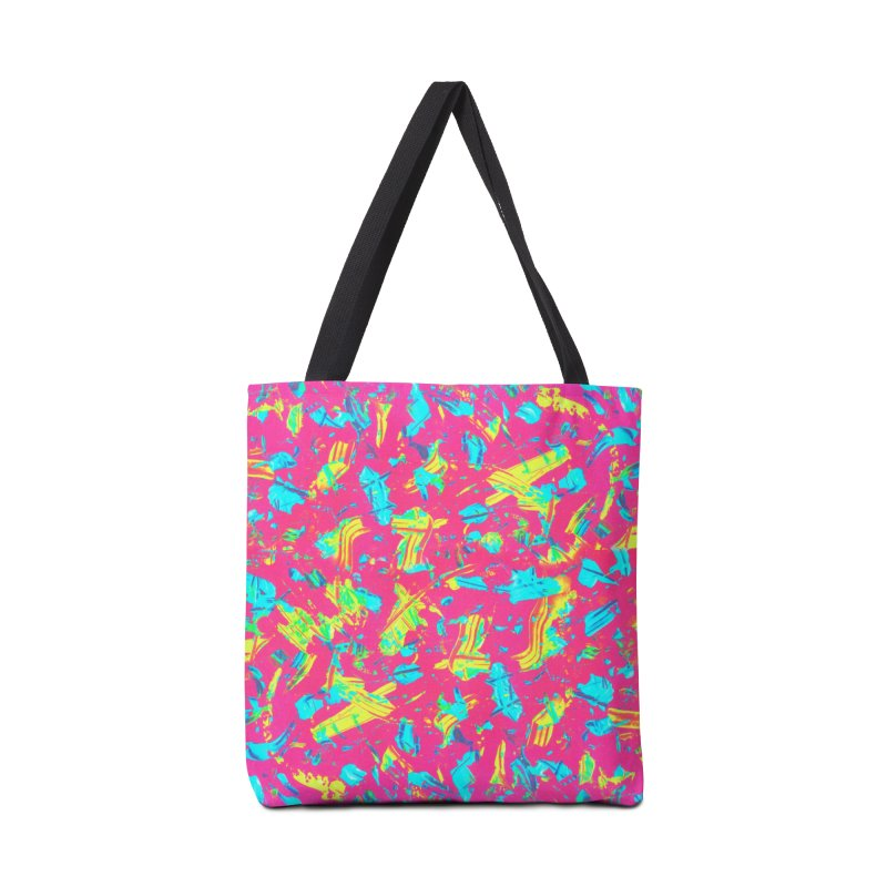 NEON PAINT PINK Accessories Bag by gasponce