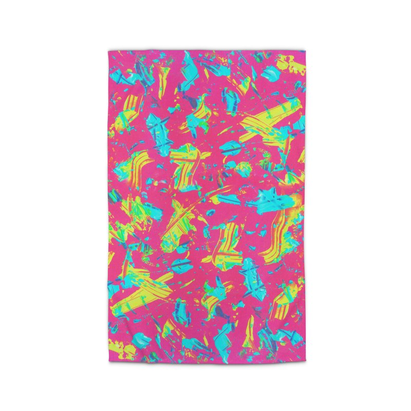 NEON PAINT PINK Home Rug by gasponce