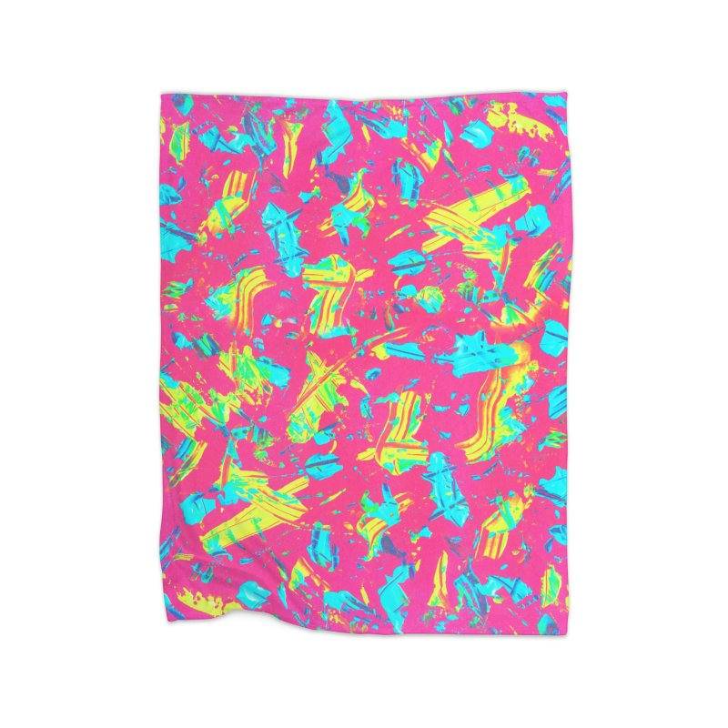 NEON PAINT PINK Home Blanket by gasponce