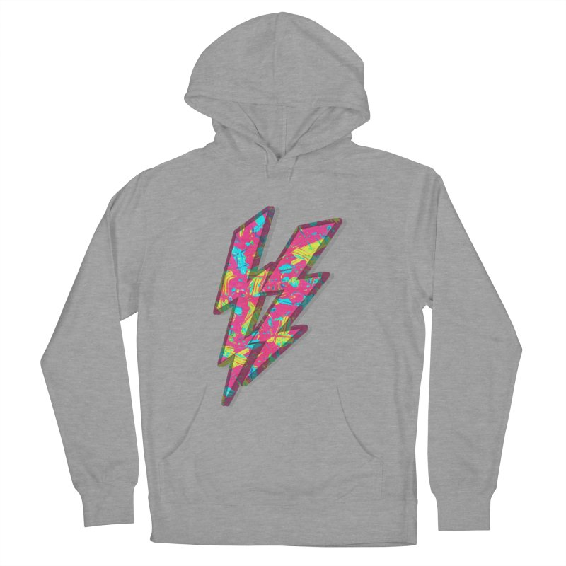 NEON PAINT PINK Women's French Terry Pullover Hoody by gasponce