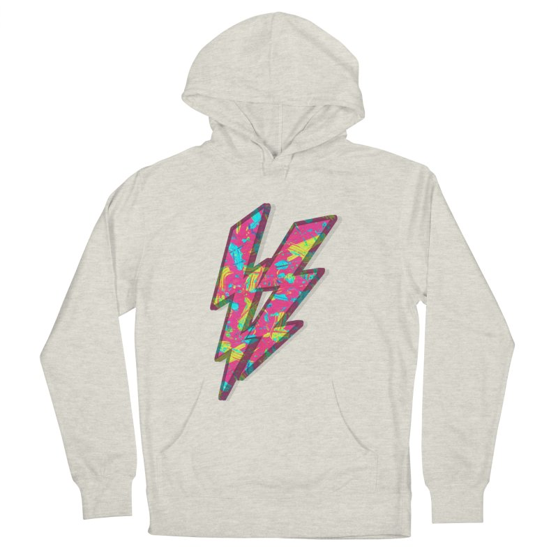 NEON PAINT PINK Men's Pullover Hoody by gasponce