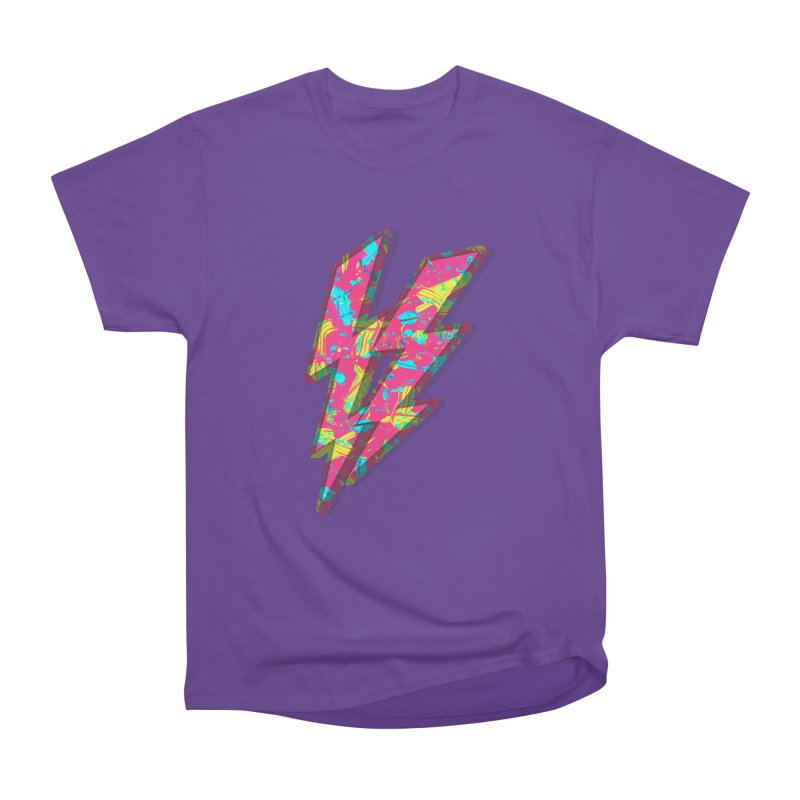 NEON PAINT PINK Men's Heavyweight T-Shirt by gasponce