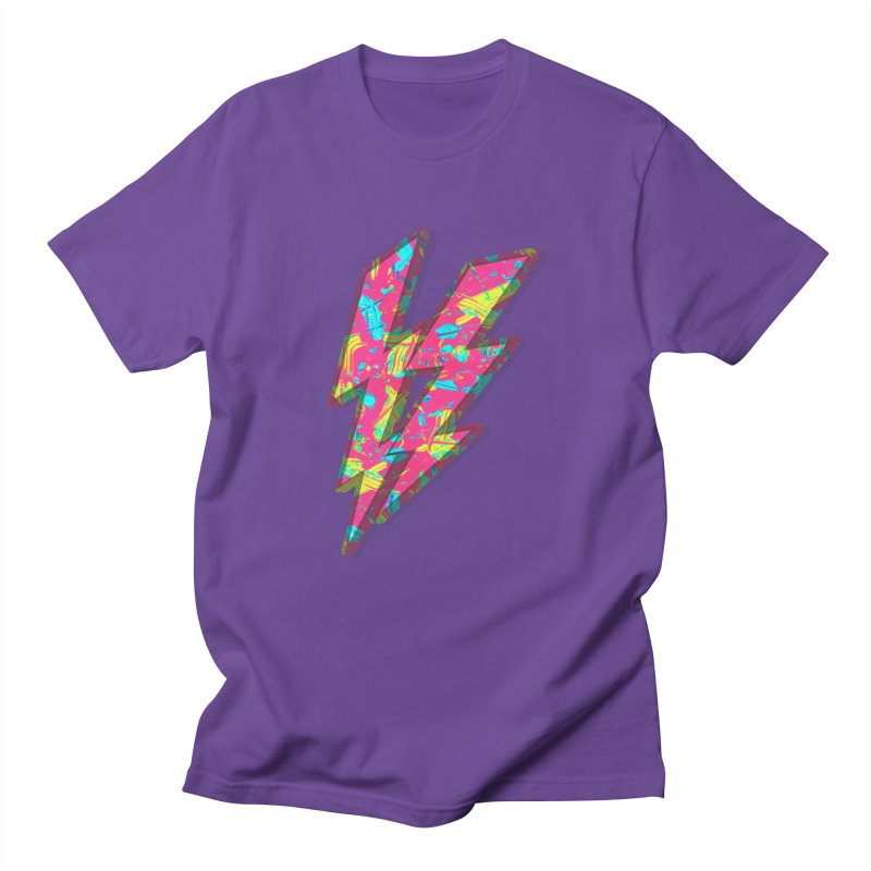 NEON PAINT PINK Men's T-Shirt by gasponce