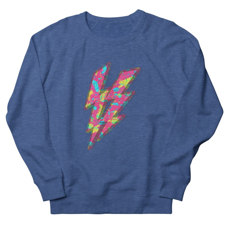 NEON PAINT PINK Women's French Terry Sweatshirt by gasponce