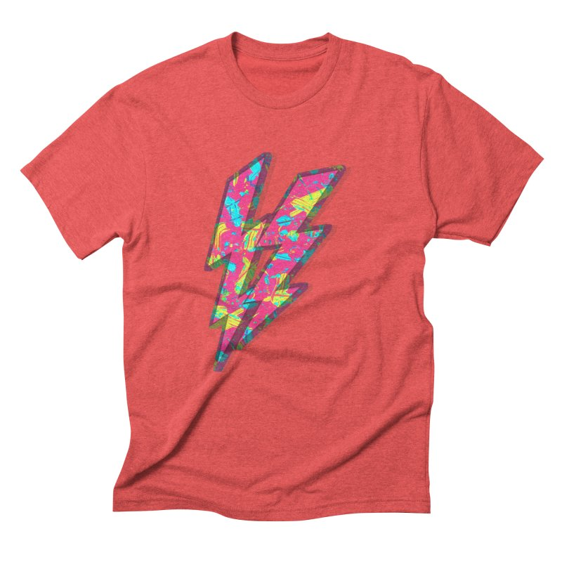 NEON PAINT PINK Men's Triblend T-Shirt by gasponce