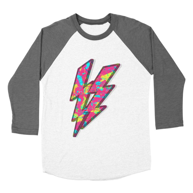 NEON PAINT PINK Women's Baseball Triblend T-Shirt by gasponce