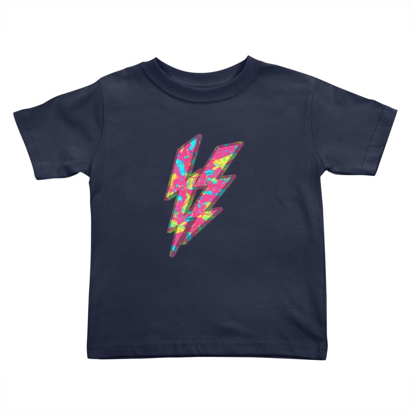 NEON PAINT PINK Kids Toddler T-Shirt by gasponce