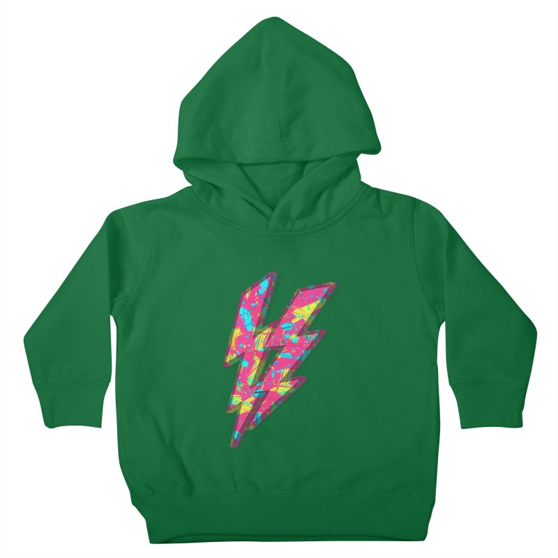 NEON PAINT PINK Kids Toddler Pullover Hoody by gasponce