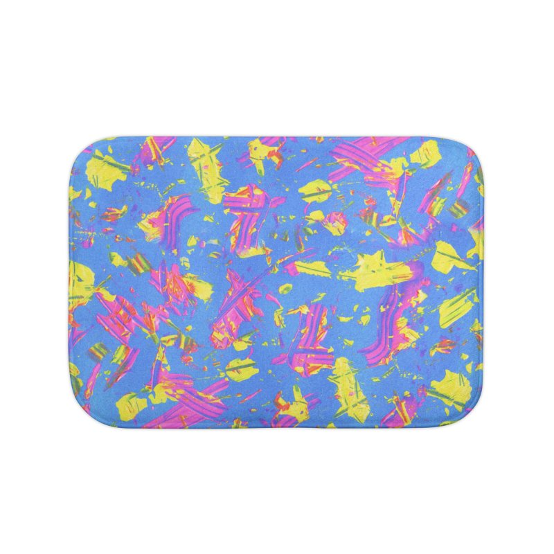 NEON SUMMERTIME! Home Bath Mat by gasponce