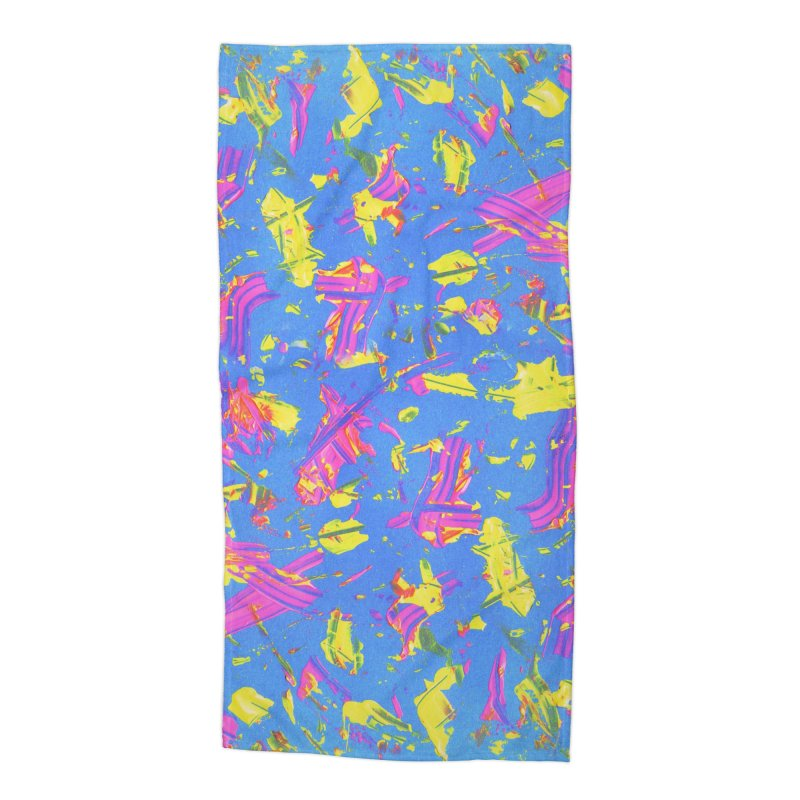 NEON SUMMERTIME! Accessories Beach Towel by gasponce