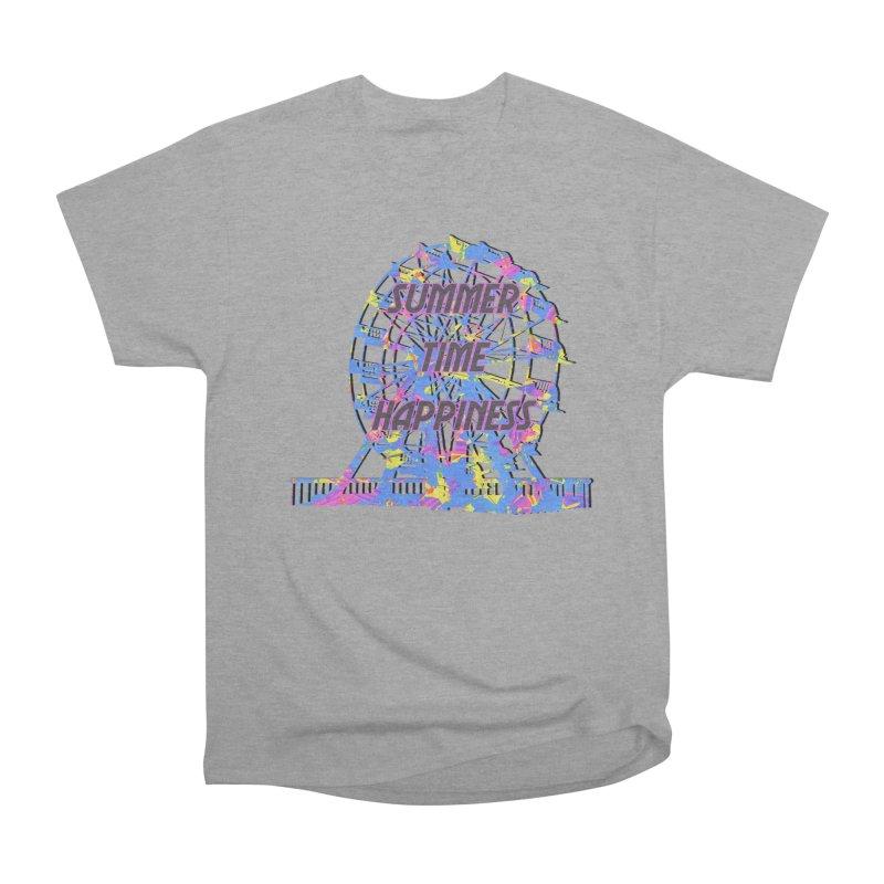 NEON SUMMERTIME! Men's Heavyweight T-Shirt by gasponce
