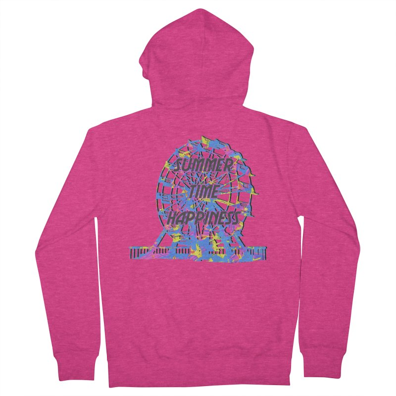 NEON SUMMERTIME! Women's French Terry Zip-Up Hoody by gasponce
