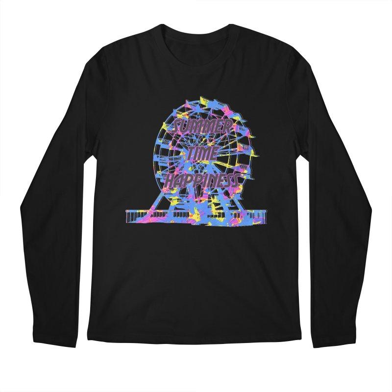 NEON SUMMERTIME! Men's Longsleeve T-Shirt by gasponce