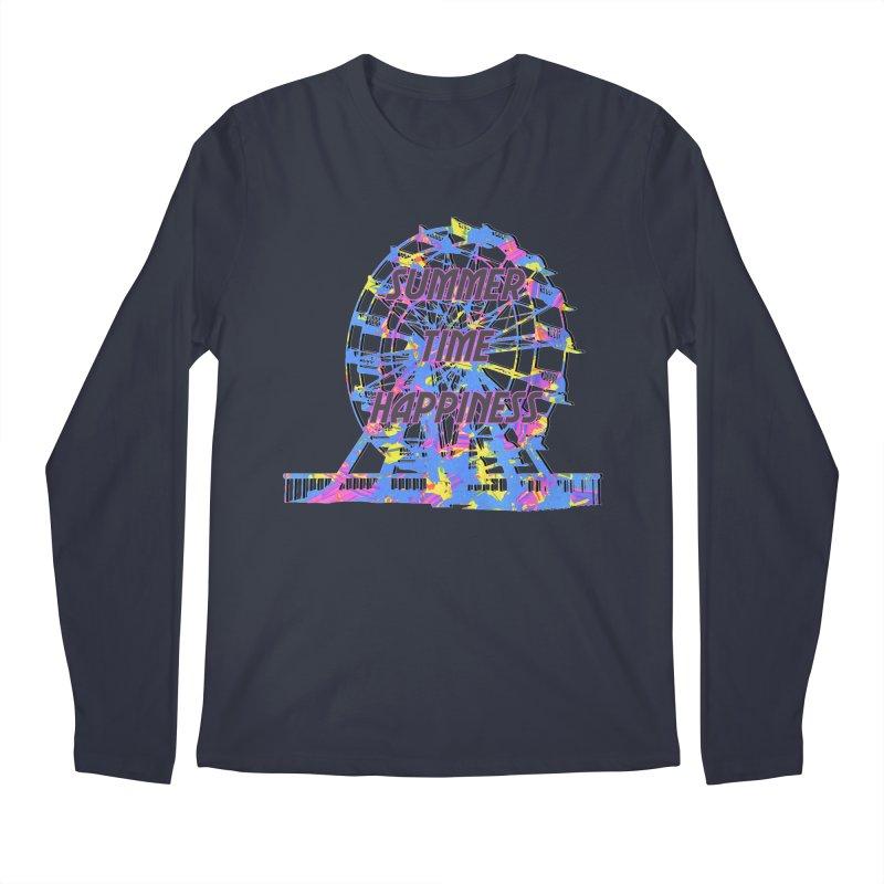 NEON SUMMERTIME! Men's Regular Longsleeve T-Shirt by gasponce
