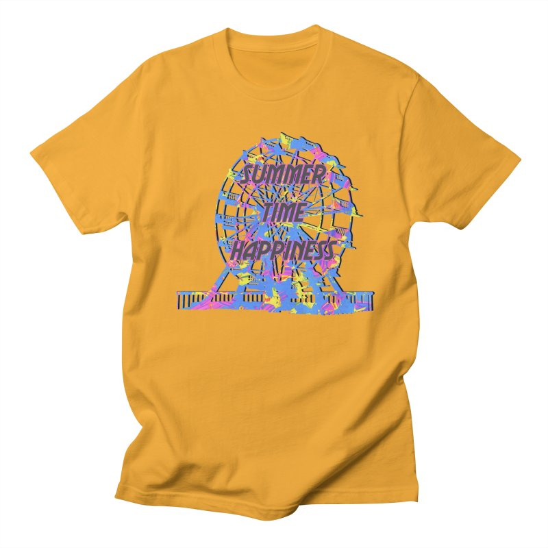 NEON SUMMERTIME! Men's T-Shirt by gasponce