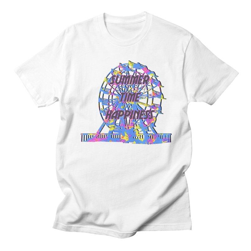 NEON SUMMERTIME! Men's Regular T-Shirt by gasponce