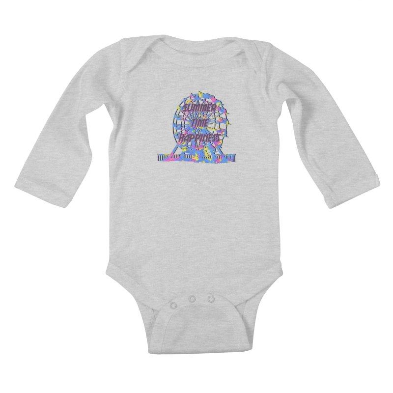 NEON SUMMERTIME! Kids Baby Longsleeve Bodysuit by gasponce