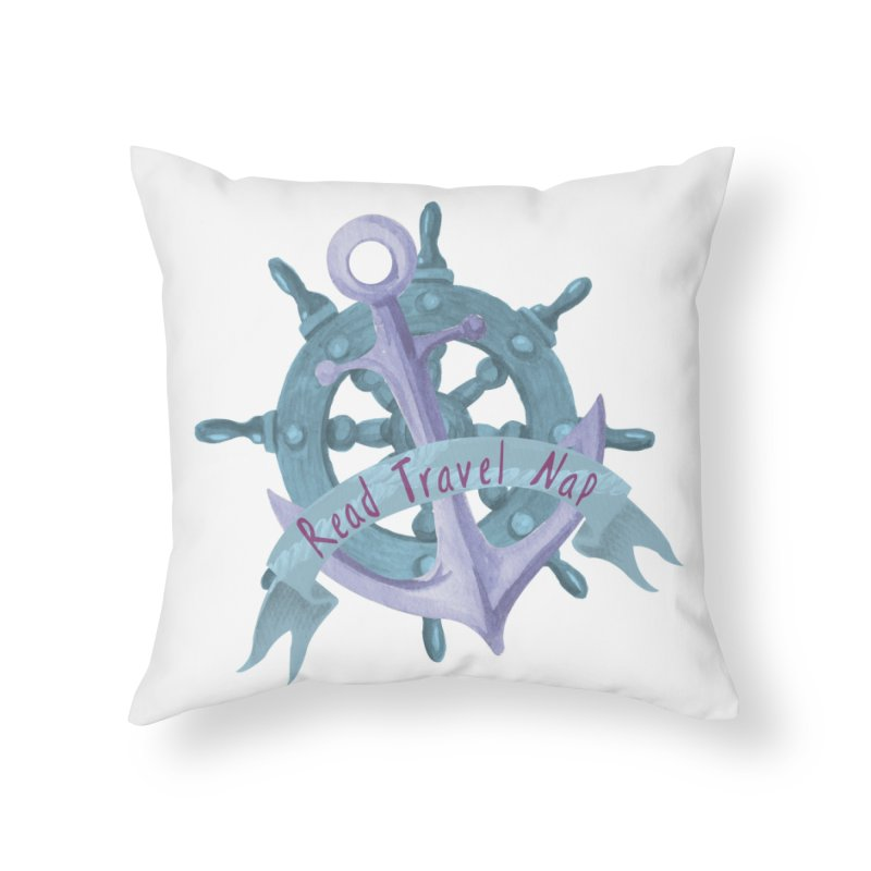 NAUTICAL ADVICE! Home Throw Pillow by gasponce