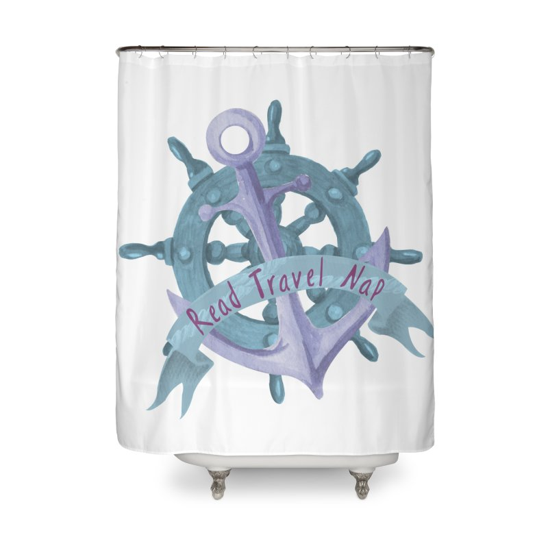 NAUTICAL ADVICE! Home Shower Curtain by gasponce