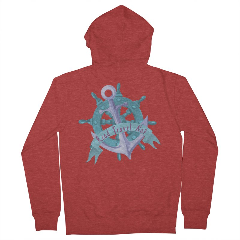 NAUTICAL ADVICE! Men's Zip-Up Hoody by gasponce