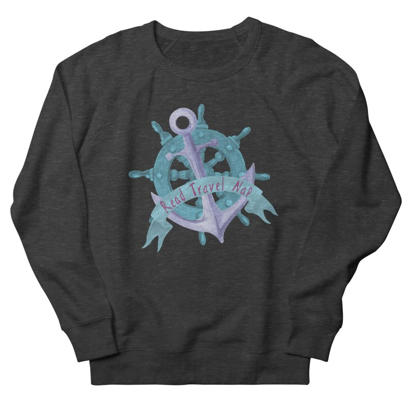 NAUTICAL ADVICE! Women's French Terry Sweatshirt by gasponce