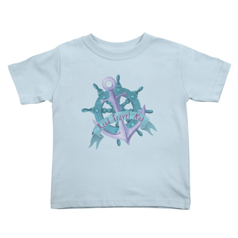 NAUTICAL ADVICE! Kids Toddler T-Shirt by gasponce