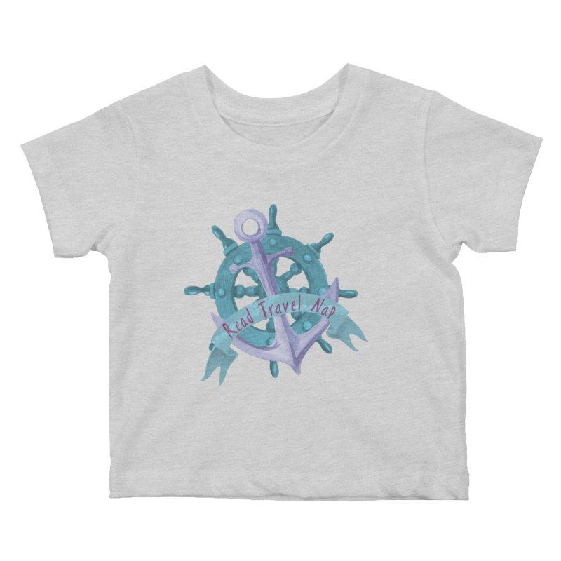 NAUTICAL ADVICE! Kids Baby T-Shirt by gasponce