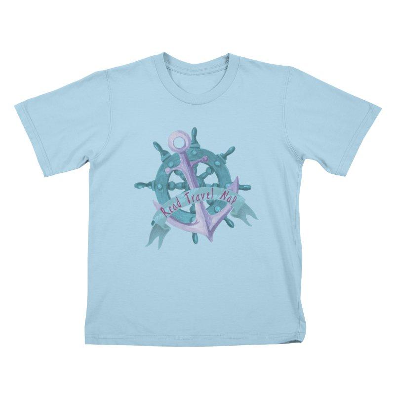 NAUTICAL ADVICE! Kids T-Shirt by gasponce