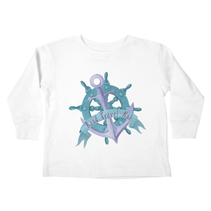 NAUTICAL ADVICE! Kids Toddler Longsleeve T-Shirt by gasponce