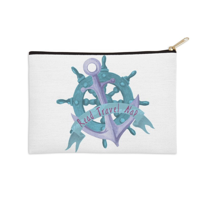 NAUTICAL ADVICE! Accessories Zip Pouch by gasponce