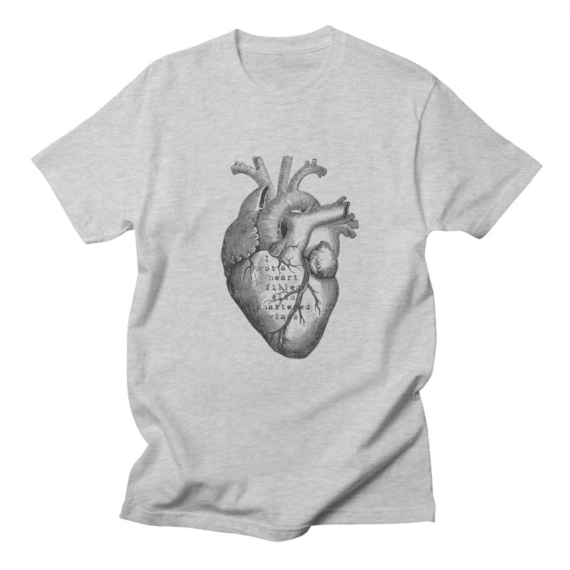 Heart o' glass Men's T-shirt by gasponce