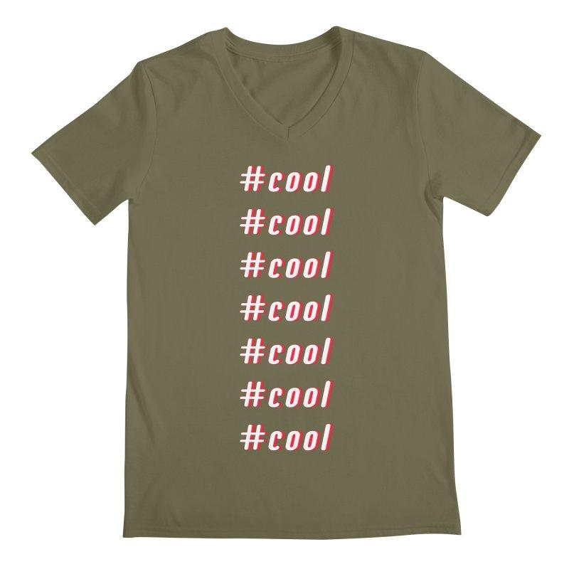 COOL! Men's V-Neck by gasponce
