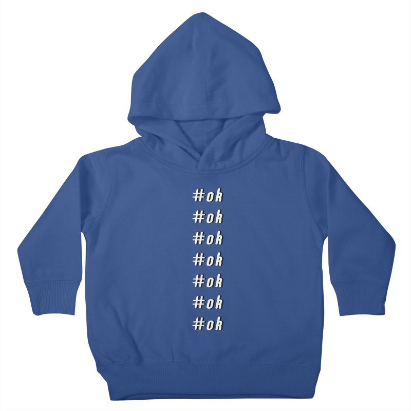 OK! Kids Toddler Pullover Hoody by gasponce