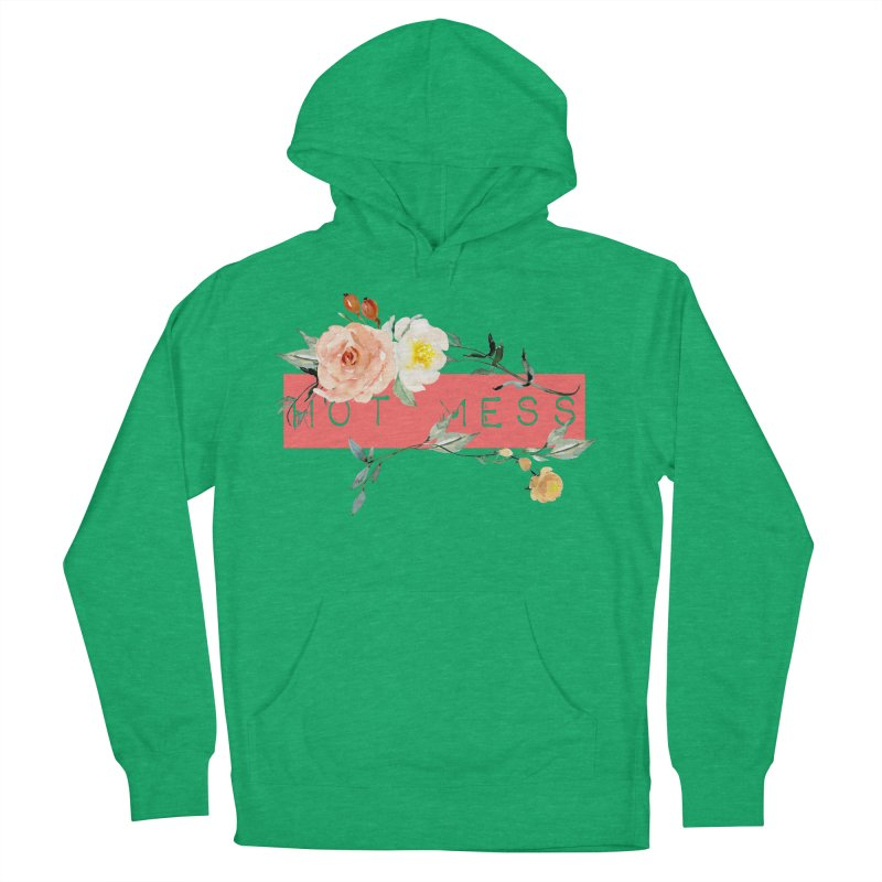 HOT MESS! Men's Pullover Hoody by gasponce