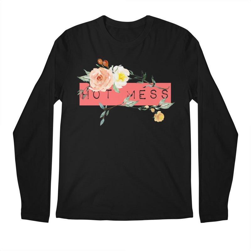 HOT MESS! Men's Regular Longsleeve T-Shirt by gasponce