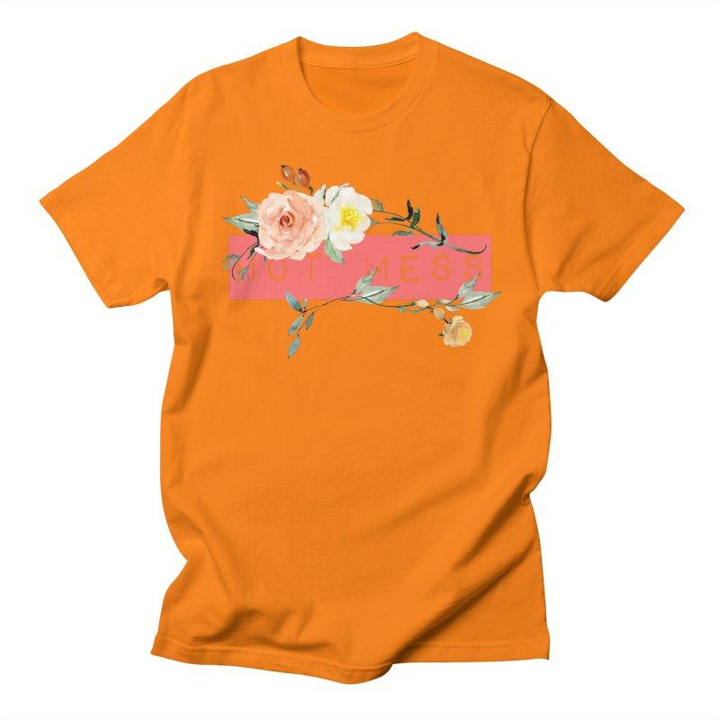 HOT MESS! Men's Regular T-Shirt by gasponce