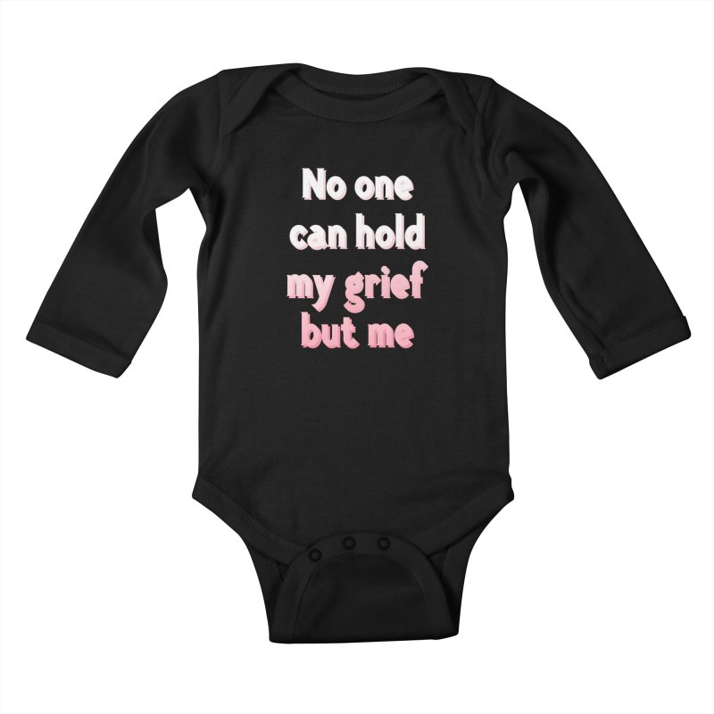 GRIEF Kids Baby Longsleeve Bodysuit by gasponce