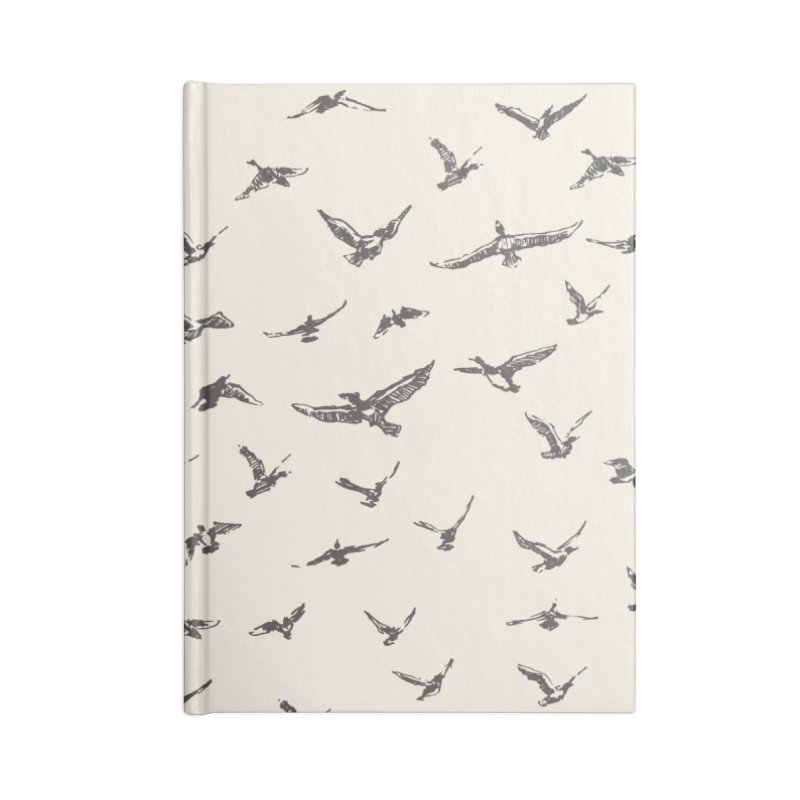 FLOCK OF SCRIBBLES Accessories Notebook by gasponce