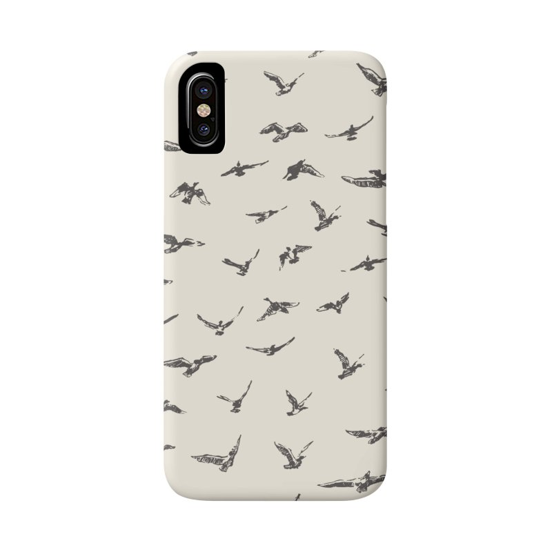 FLOCK OF SCRIBBLES Accessories Phone Case by gasponce