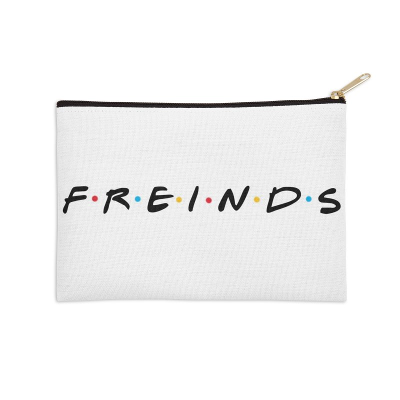 FREINDS Accessories Zip Pouch by gasponce
