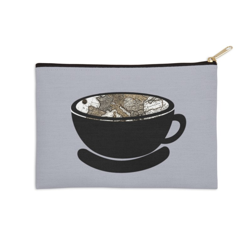 CUP OF WORLD 2 Accessories Zip Pouch by gasponce
