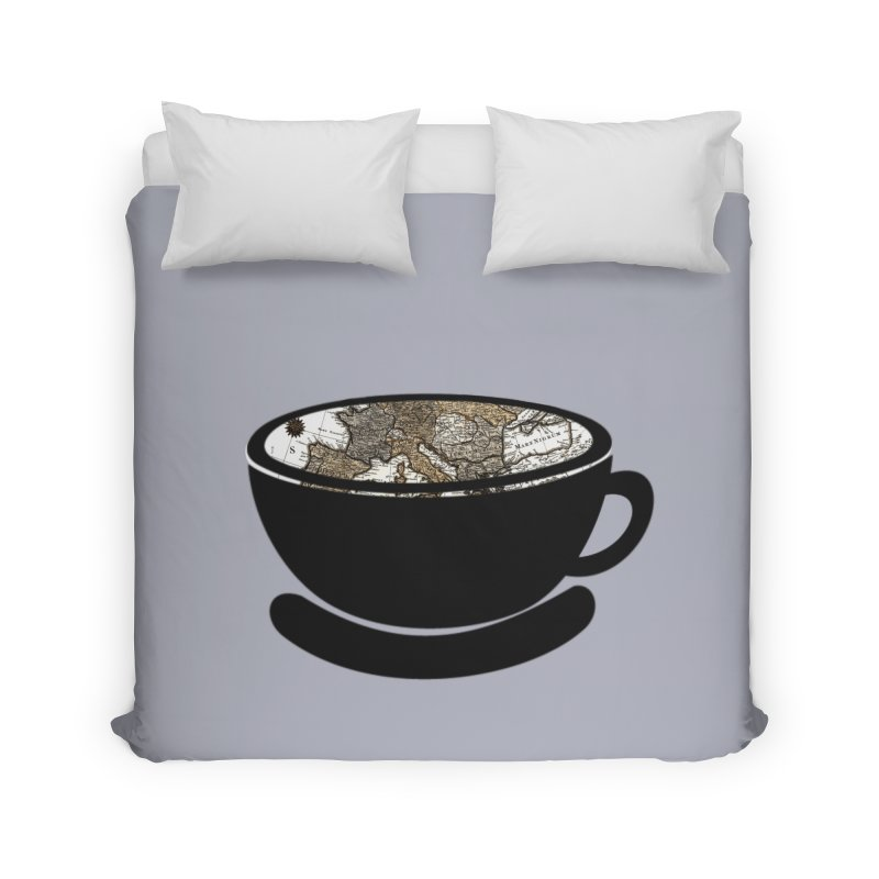 CUP OF WORLD 2 Home Duvet by gasponce