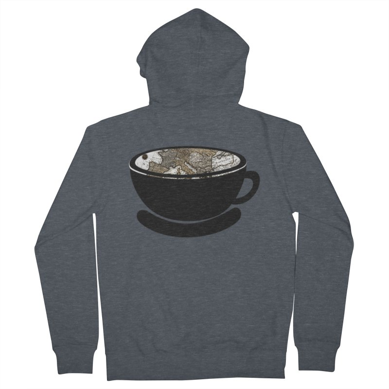 CUP OF WORLD 2 Women's French Terry Zip-Up Hoody by gasponce