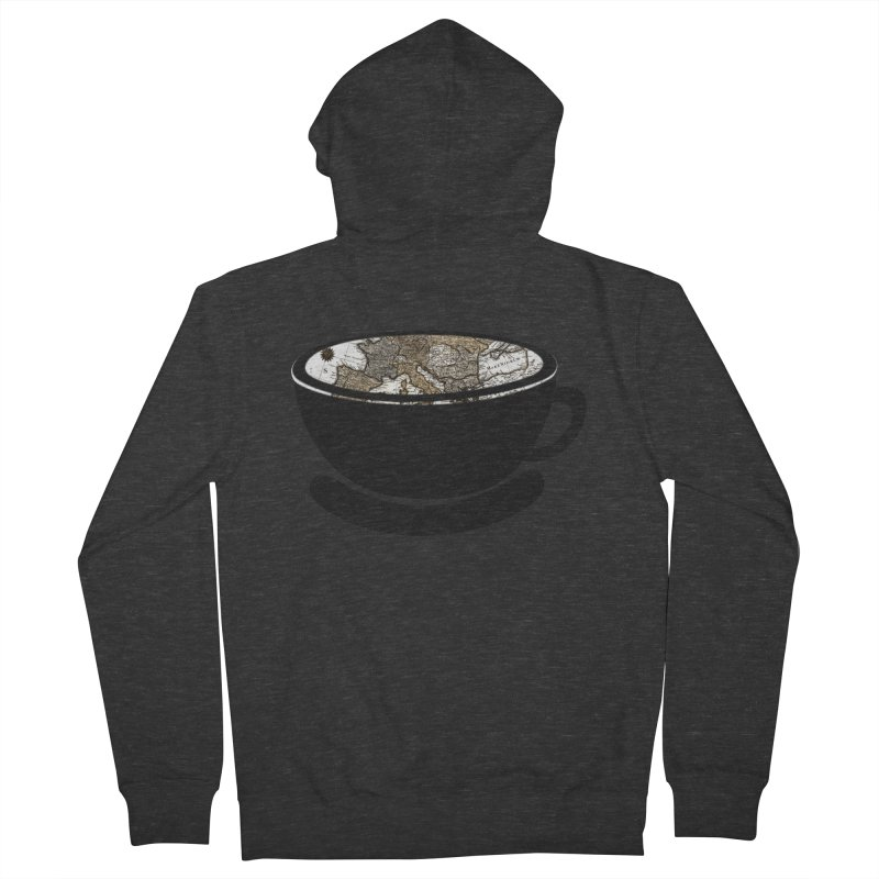 CUP OF WORLD 2 Men's French Terry Zip-Up Hoody by gasponce