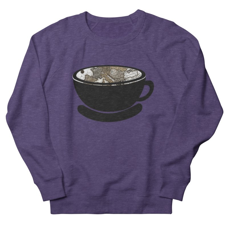 CUP OF WORLD 2 Women's French Terry Sweatshirt by gasponce