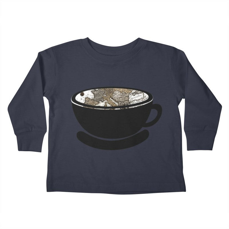 CUP OF WORLD 2 Kids Toddler Longsleeve T-Shirt by gasponce