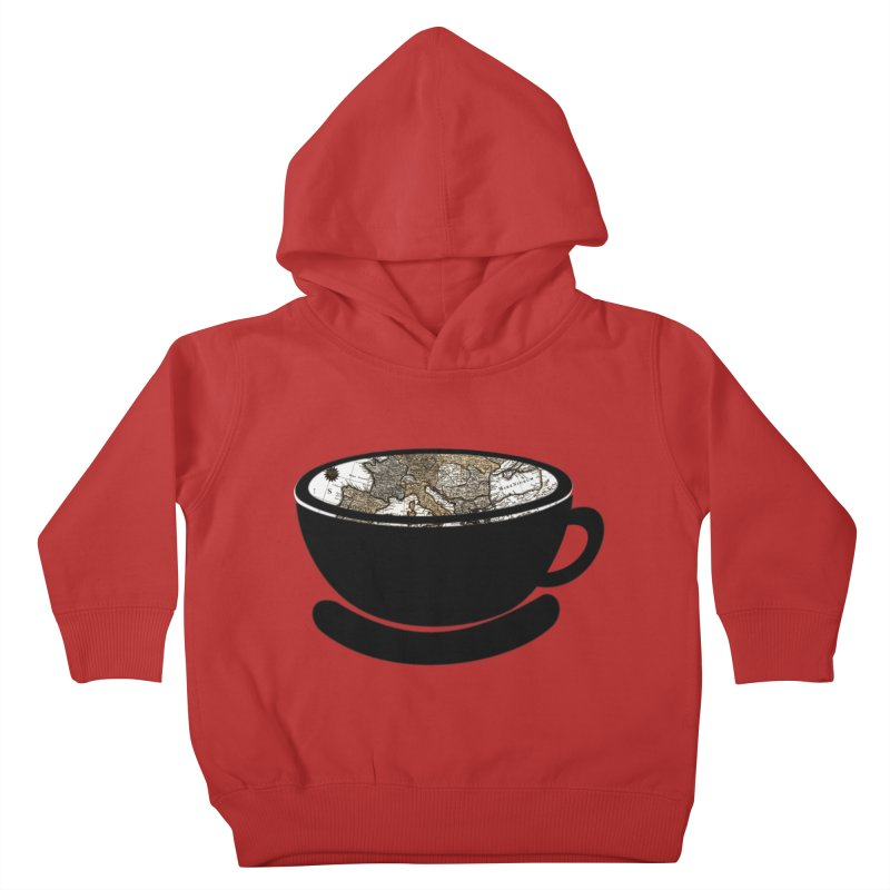 CUP OF WORLD 2 Kids Toddler Pullover Hoody by gasponce
